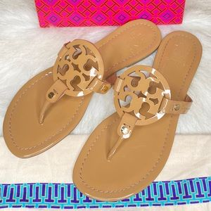 Like new Tory Burch Miller Thong Sandals